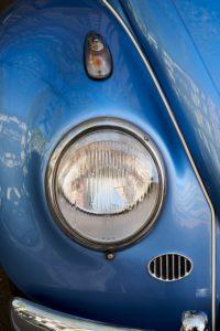 Headlamp & detail of VW Beetle