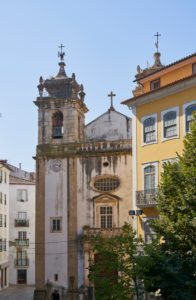 10th Century S. Bartolomeu church, Coimbra, Portugal