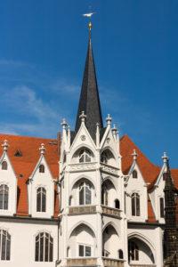 Elbe Cycletour, Saxony, Meissen, Old Town, Albrechtsburg