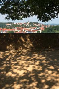 Elbe-Radweg, Sachsen, Meißen, Blick vom Domplatz