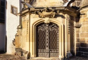 Elbe-Radweg, Sachsen, Torgau, Marienkirche, Stadtkirche, Portal
