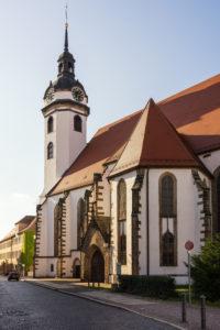 Elbe-Radweg, Sachsen, Torgau, Marienkirche, Stadtkirche