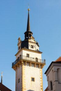 Elbe-Radweg, Sachsen, Torgau, Schloss Hartenfels, Hausmannsturm