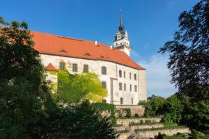 Elbe-Radweg, Sachsen, Torgau, Schloss Hartenfels