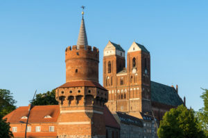 Uckermark, Prenzlau, central gate tower, St. Mary's Church