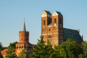Uckermark, Prenzlau, central gate tower, St. Mary's Church