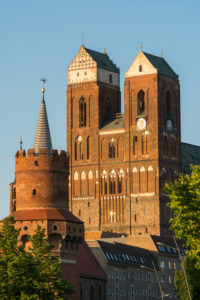 Uckermark, Prenzlau, central gate tower, church of St. Mary