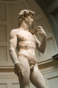 Florence, Accademia di Belle Arti, David by Michelangelo, original