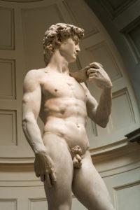 Florenz, Accademia di Belle Arti, David von Michelangelo, Original