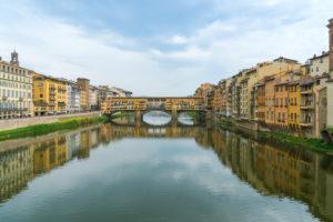 Florence, Arno river, Ponte Vecchio