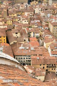 Florenz, Blick vom Dom, Altstadt