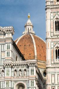 Florenz, Cattedrale di Santa Maria del Fiore, Kuppel mit Besuchern
