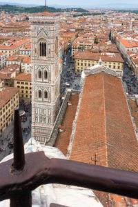 Florenz, Dom, Kathedrale, Santa Maria del Fiore, Blick von der Kuppel
