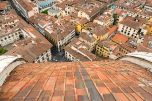 Florenz, Dom, Kathedrale, Santa Maria del Fiore, Blick von Kuppel