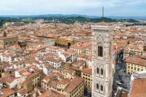 Florenz, Dom, Kathedrale, Santa Maria del Fiore, Blick von oben