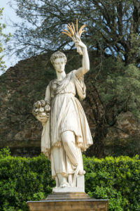 Florence, Giardino di Boboli, Allegorie der Fülle