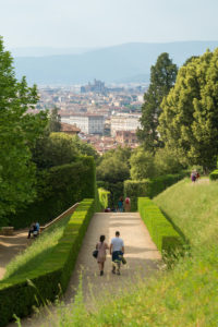 Florence, Giardino di Boboli, park, strollers