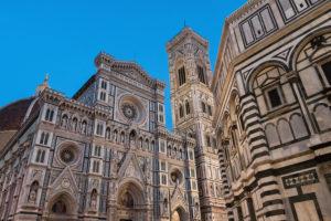 Florenz, Kathedrale Santa Maria del Fiore, blaue Stunde