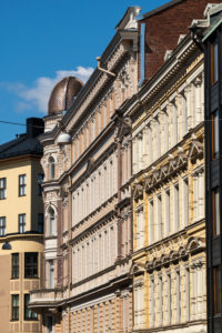 Helsinki, Old Town, Art Nouveau facades