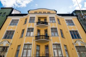Helsinki, Iso Robertinkatu 26, Jugendstilfassade