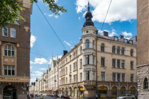 Helsinki, Altstadt, Jugendstilfassaden, Uudenmaankatu