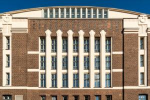 Helsinki, Art-Deco-Fassade, Hotel Grand Marina
