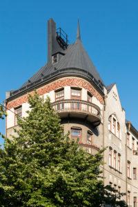Helsinki, Art Nouveau district in Katajanokka, Linnankatu