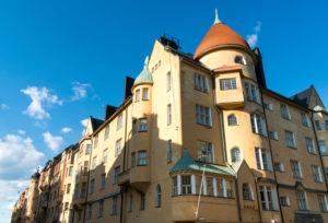 Helsinki, Jugendstilviertel in Katajanokka, Kauppiaankatu