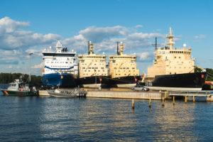 Helsinki, Hafen, Marinepark, Eisbrecher, Katajanokka Icebreaker Base