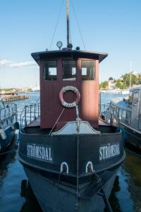Helsinki, Halkolaituri-Kai, Hafen historischer Schiffe, Strömsdal 1913