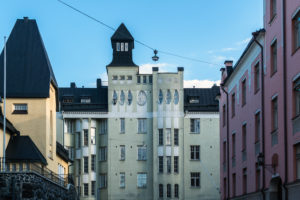 Helsinki, Art Nouveau building, Oikokatu