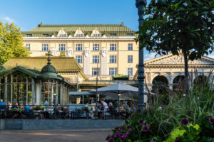 Helsinki, Esplanadi Park, summer, evening mood