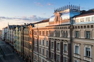 Helsinki, Erottjankatu, Jugendstilfassaden
