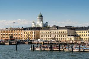 Helsinki, Altstadt, Hafen, Kauppatori, Dom