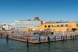 Helsinki, Altstadt, Hafen, Allas Sea Pool
