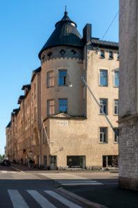 Helsinki, Art Nouveau architecture in the district of Eira, Pietarinkatu / Kapteeninkatu, House Maja
