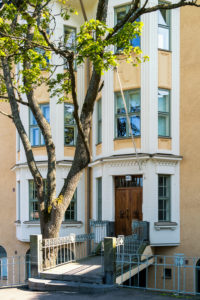 Helsinki, Old Town, Art Nouveau facade