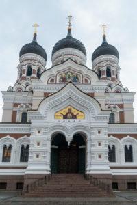 Estonia, Tallinn, Domberg, Alexander Nevsky Cathedral