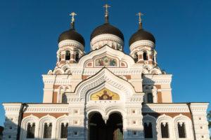 Estland, Tallinn, Domberg, Alexander-Newski-Kathedrale