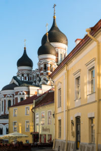 Estonia, Tallinn, Domberg, Alexander Nevsky Cathedral, restaurant
