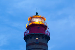 island of island of Rügen, Cape Arkona, new lighthouse, beacon in operation