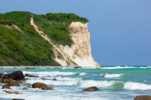island of Rügen, Cape Arkona, cliffs, chalk cliffs
