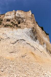 Rügen, Kap Arkona, Steilküste, Kreidefelsen, Sediment