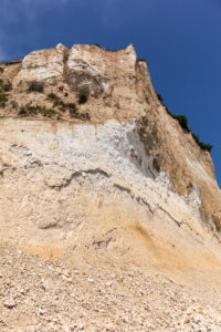 island of Rügen, Cape Arkona, cliffs, chalk cliffs, sediment