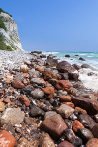 island of Rügen, Cape Arkona, cliff, beach, stones