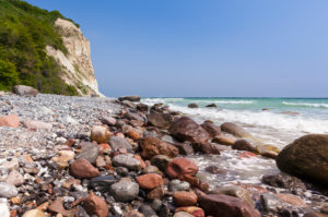 Rügen, Kap Arkona, Steilküste, Strand, Steine