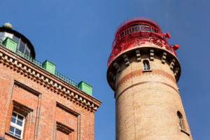 Ostsee, Rügen, Kap Arkona, Schinkelturm und neuer Leuchtturm