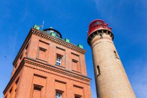 Baltic Sea, island of Rügen, Cape Arkona, Schinkelturm and new lighthouse