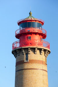island of Rügen, Cape Arkona, new lighthouse in the evening light