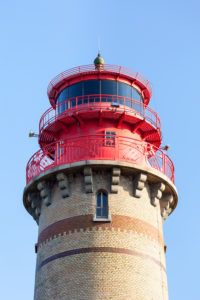 Rügen, Kap Arkona, neuer Leuchtturm, Detail